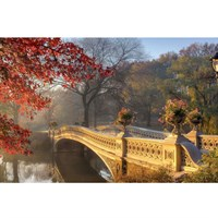13-0294-PE Декор. панно на флизе Осенний сад 2,5*1,3м