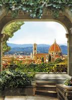 21-0333-BG Декор. панно на флизе Флорентийский собор 2,0*2,8м
