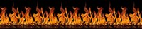 Панель фартук Пламя  АБС 3,0 х 0,60