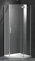Душевой угол GF-6K1047 900х900х1900 Низкий поддон, прозрачные стекла 6мм