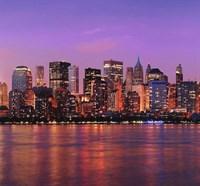 31-0101-WV Декор. панно на флизе Сумеречный Нью-Йорк 3*2,8м