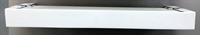 Карниз 2-х рядн Цезарь Плюс 50 мм 2,8 м белый
