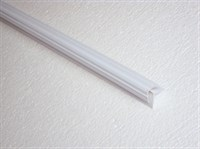 Внутренний угол RUKUS PP 2.01 (белый), 2,5м