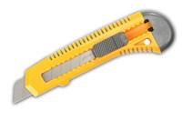Нож STAYER  STANDARD  с сегмент. лезвием, пластмас., 18мм