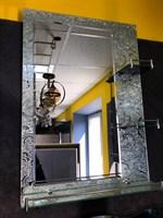 Зеркало №3412 50х70 с полочками
