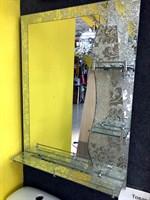 Зеркало №А066 60х80 с полочками