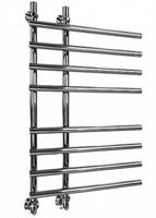 Полотенцесушитель ДВИН L primo высота-80, ширина-65 1 -3/4 -1/2  Универсальный