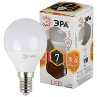 лампа светод. ЭРА LED smd P45-7w-827-E14