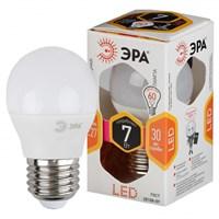 лампа светод. ЭРА LED smd P45-7w-827-E27