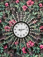 Часы настенные  Лучик  черные №2500
