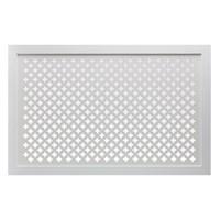 Экран для радиатора 120х60см Готико белый