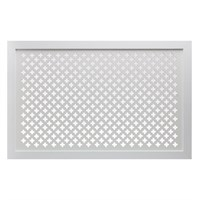 Экран для радиатора 90х60см Готико белый