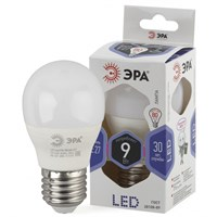 лампа светод. ЭРА LED smd Р45-9w-860-E27