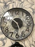 Часы настенные Черные №380