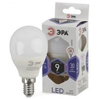 лампа светод. ЭРА LED smd P45-9w-860-E14