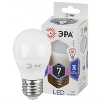 лампа светод. ЭРА LED smd P45-7w-860-E27