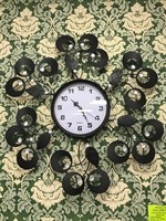 Часы настенные  Цветы  большие