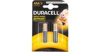 батарейка  LR03  DURACELL Basic  2BL 2*6