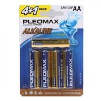 батарейка  LR6  SAMSUNG PLEOMAX  4+1BL  (50)