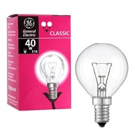 лампа  GE Брест Р45 40W E14 шарик