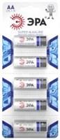 батарейка  LR6  ЭРА   5BL Strip