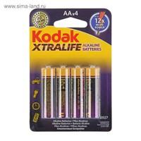батарейка  LR6  KODAK  XTRALIFE  4BL  (100)